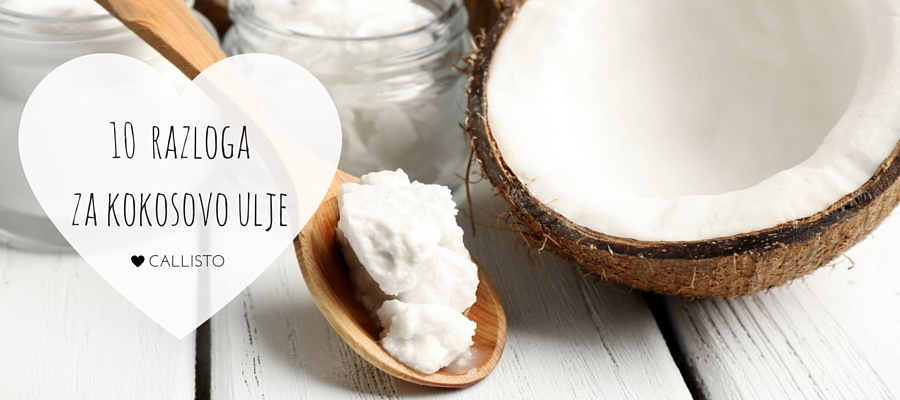 10 razloga ZA kokosovo ulje!